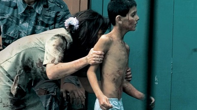 48 Hours Mystery: Julia Roberts narrates this gripping account of the 2004 hostage crisis 10 years ago in the small Russian town of Beslan, where Chechen terrorists seized a school and killed over 330 innocent people, many of them children: Watch the Full Episode Now
