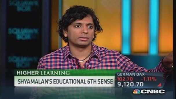 Squawk Box: M. Night Shyamalan gets 'schooled': Watch the Full Episode Now