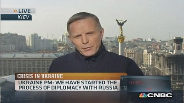 Squawk Box: Ukraine PM: 'No concessions' on Crimea: Watch the Full Episode Now