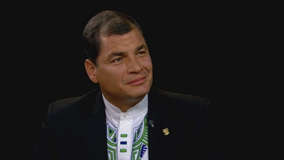 Charlie Rose: Rafael Correa; Arianna Huffington: Watch the Full Episode Now